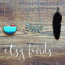 Etsy Finds: Necklaces