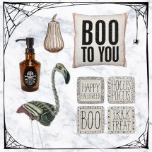 halloween decor finds