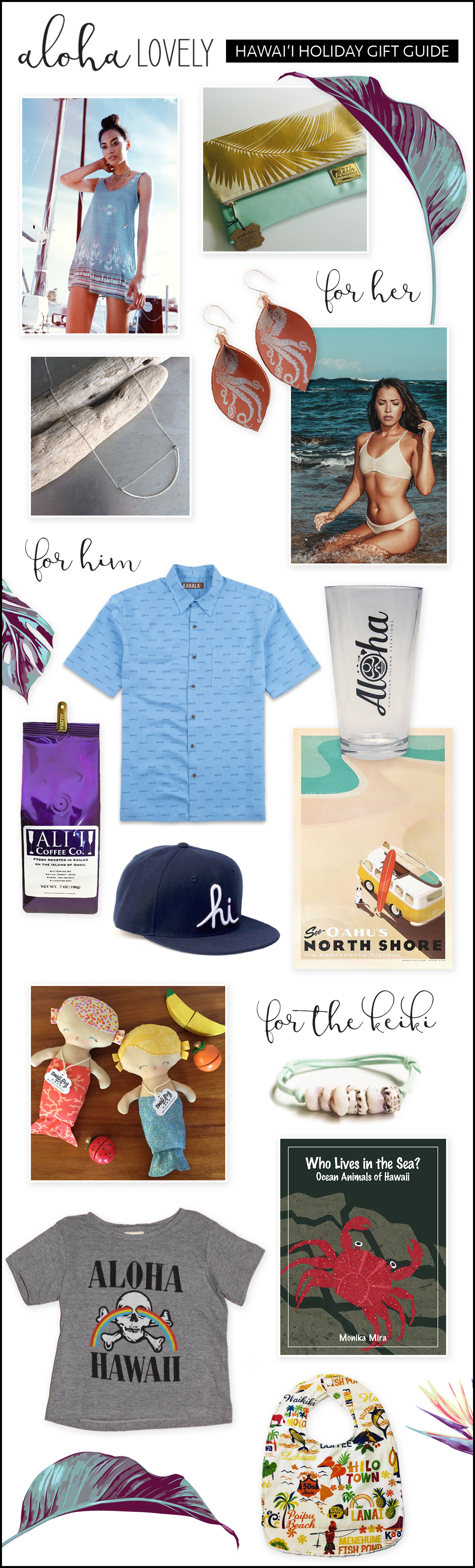 Aloha Lovely Holiday Gift Guide