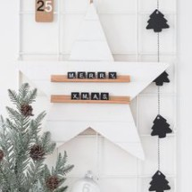 Star holiday decor