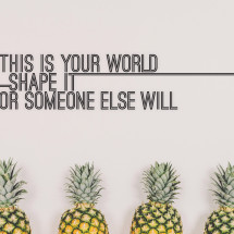 Shape Your World Print