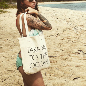 Take Me to the Ocean Tote