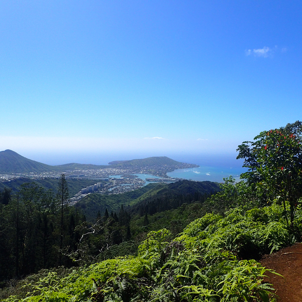 Kuliouou Ridge Trail View
