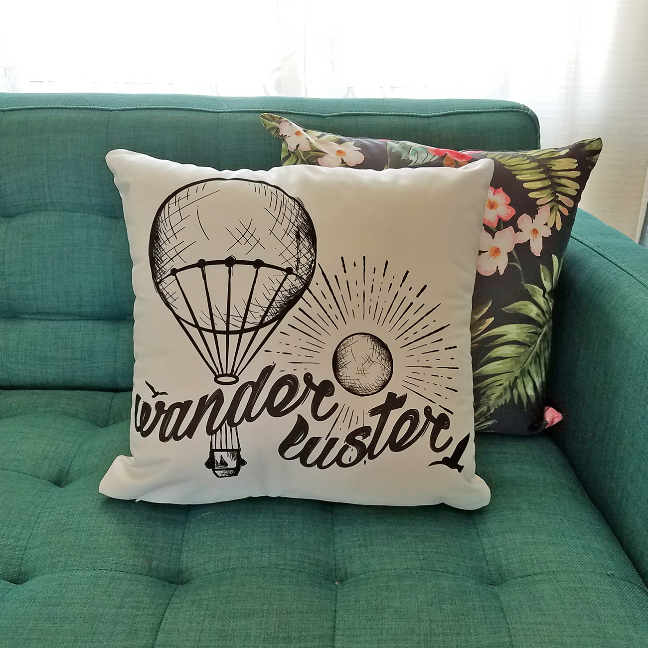 Wander Luster Pillow
