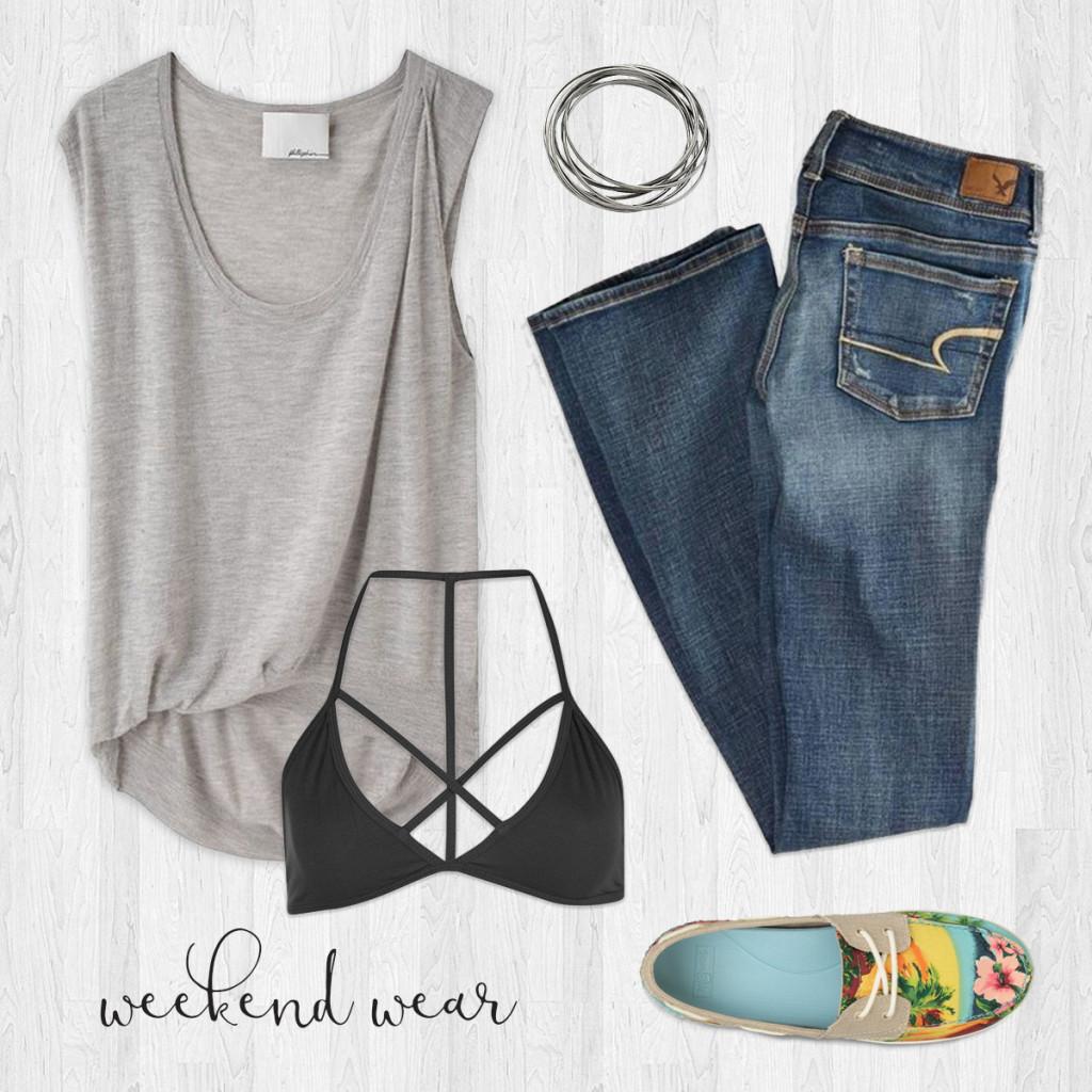 weekend wardrobe