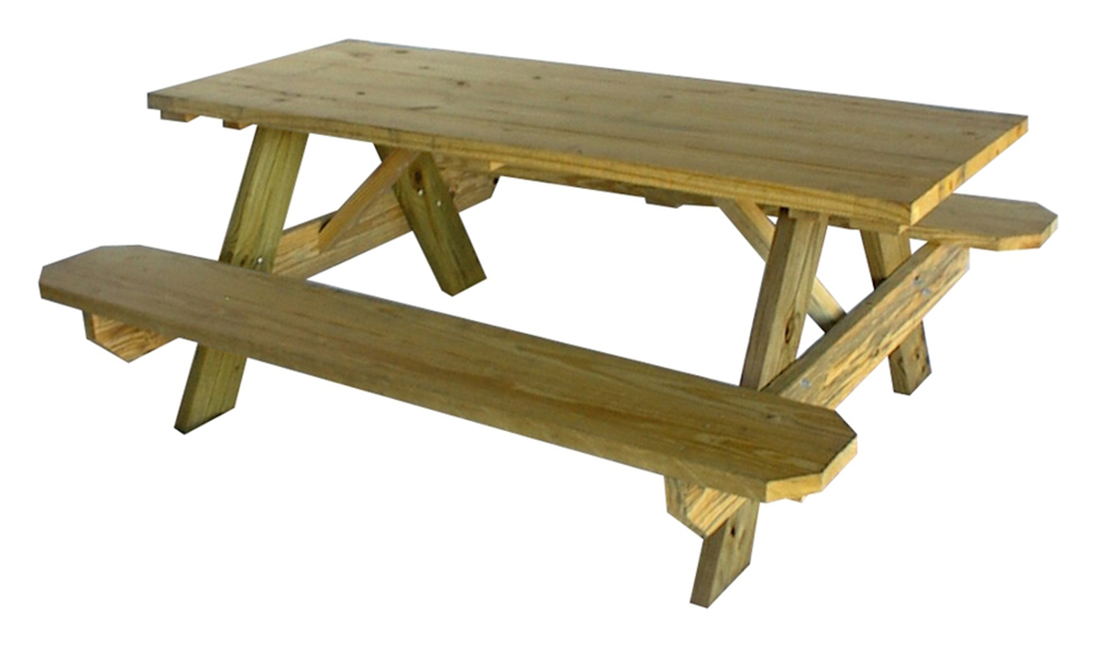 Backyard chill diy country chic picnic table aloha lovely for 8 picnic table plans