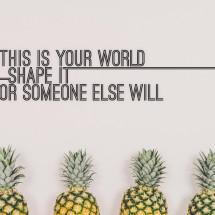 Shape Your World Print