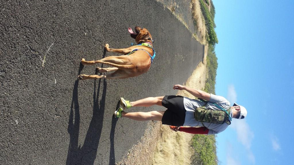Hanauma Bay Ridge Hike Paved Portion