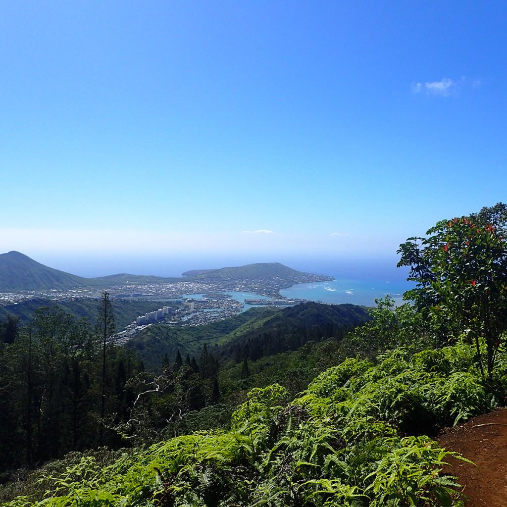 Kuliouou Ridge Trail View