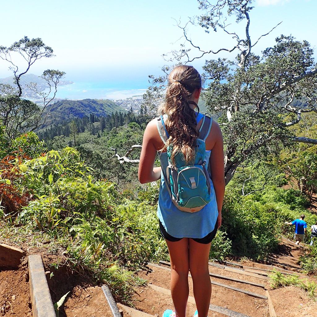 Kuliouou Ridge Trail Stairs