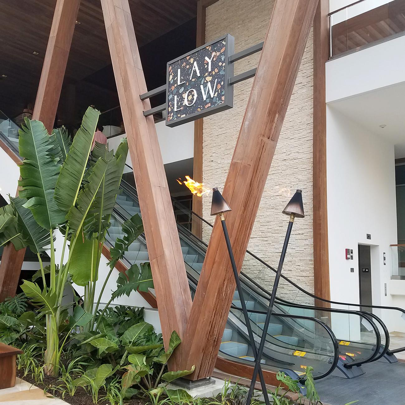 Laylow Waikiki Main Entrance