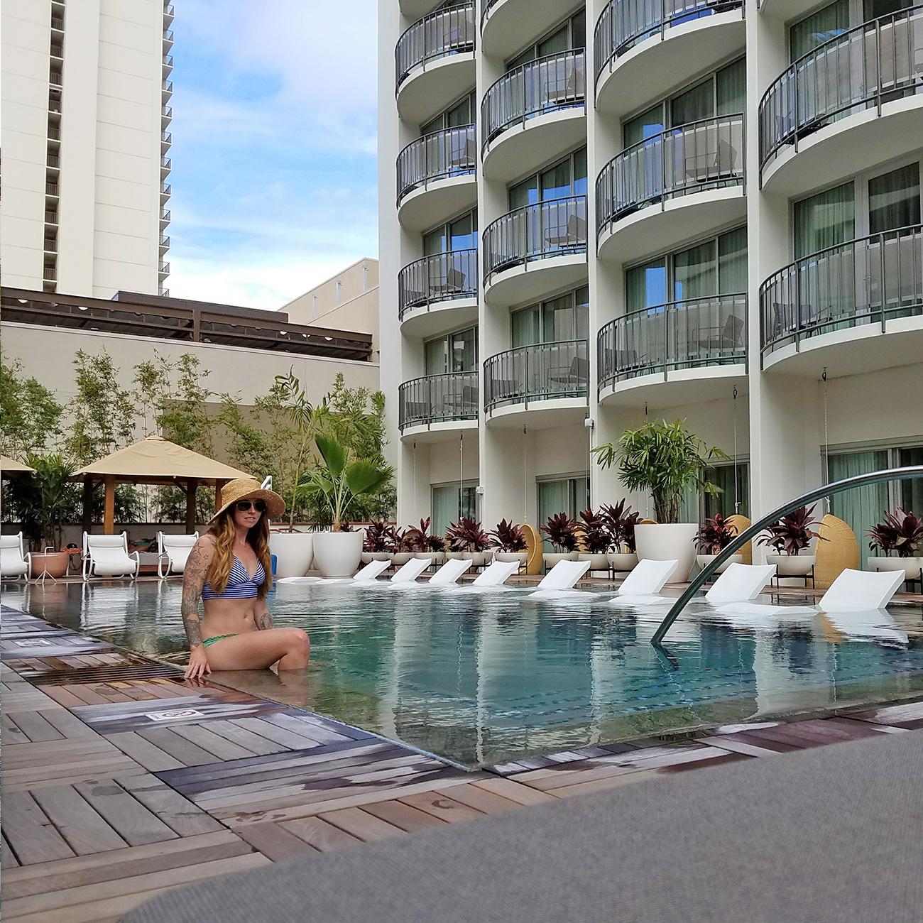 The Laylow Waikiki Pool