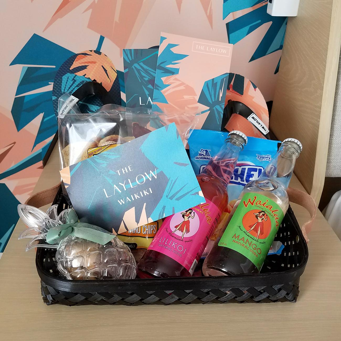 Laylow Waikiki Gift Basket