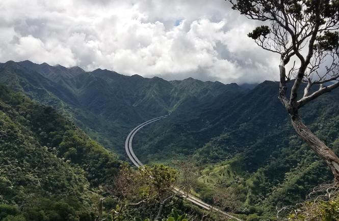 Aiea Loop Trail H3 Outlook