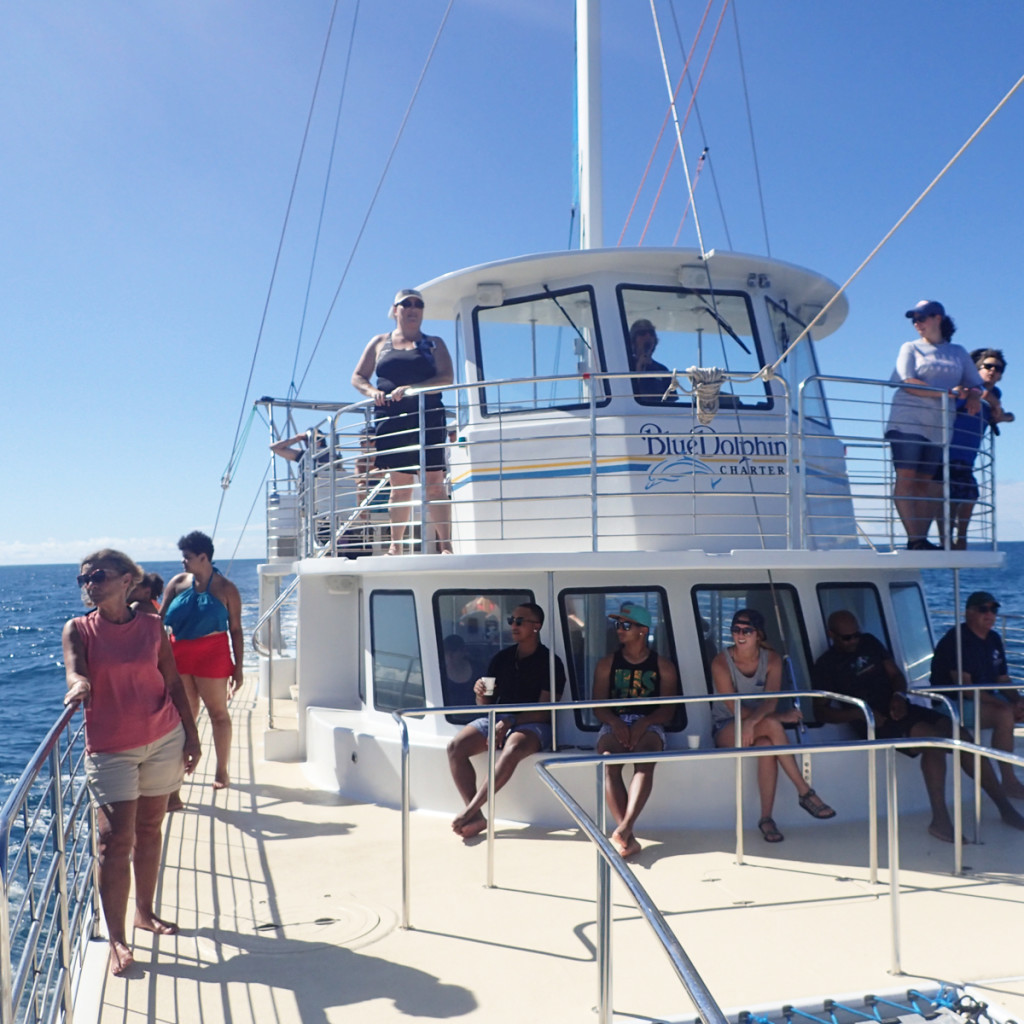 Blue Dolphin Charters Kauai Catamaran