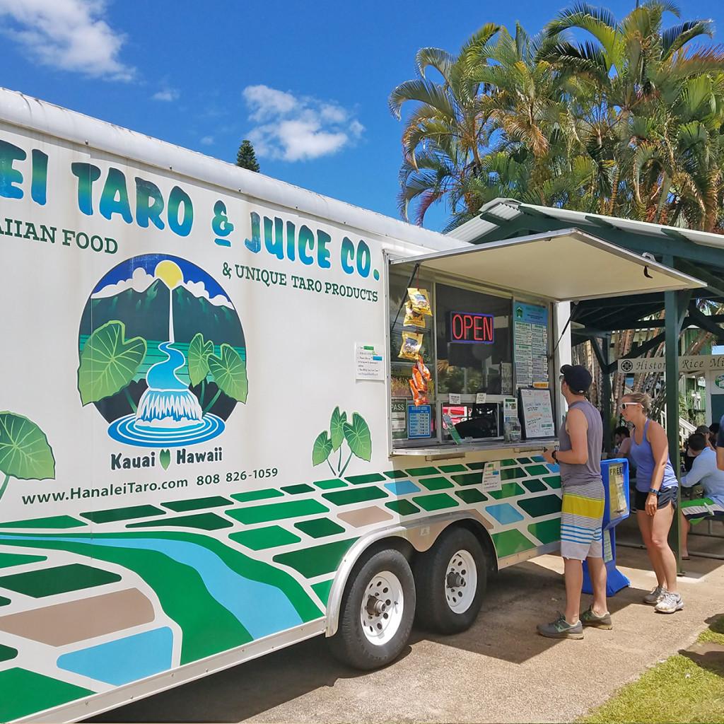 Hanalei Juice Company Food Truck Kauai