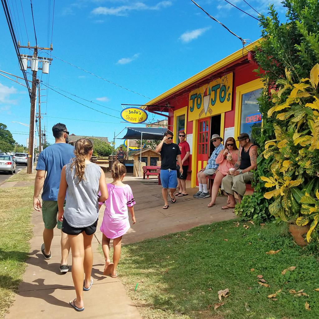Jojos Shave Ice Kauai