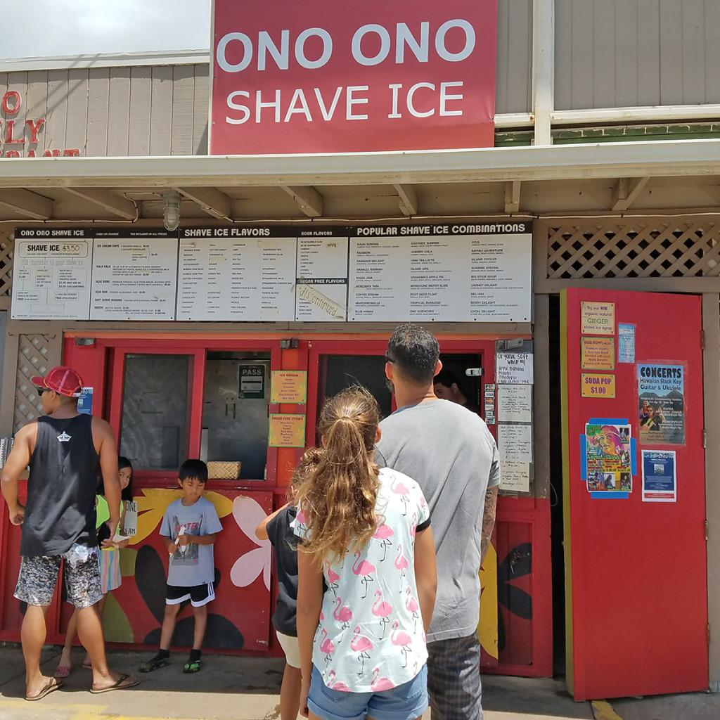 Ono Ono Shave Ice Kauai