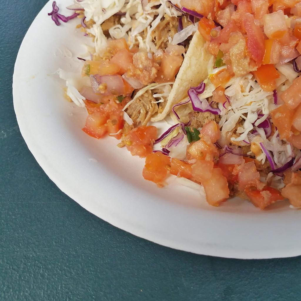 Hanalei Juice Kalua Pork Tacos