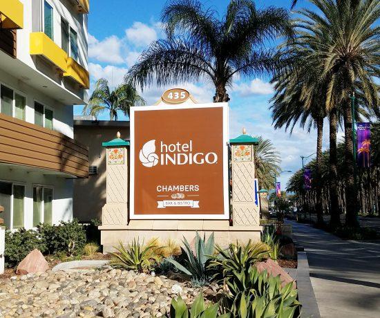 hotel indigo outside photo