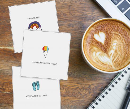 Hawaii Valentine: Free Printable Cards